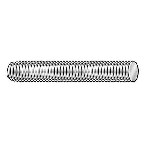 Plain Alloy Steel All Thread Rod, 1 in x 6 ft, 1-8 UNC