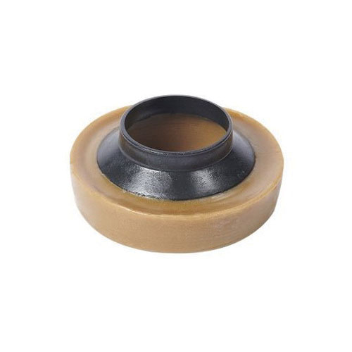 Wax Gasket with Plastic Flange for All Floor Type Toilet Bowls