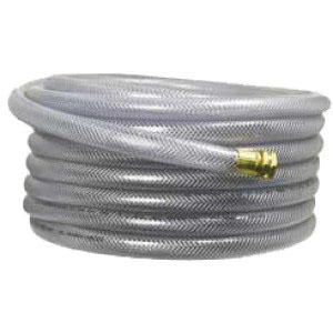 Clear Supply Line Hose, 50 ft L x 1-1/2 in OD