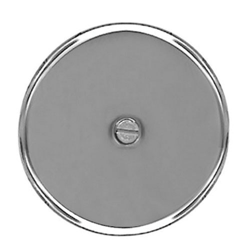 Stainless Steel Cleanout Cover, 6 in Dia