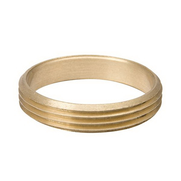 Brass Cast DWV Adapter, 2 in, Copper x Slip