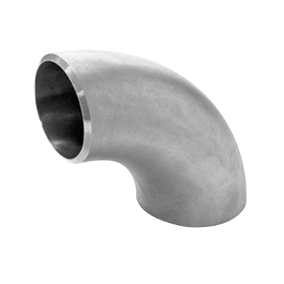 316L Stainless Steel SCH 10 90 deg Long Radius Elbow, 18 in, Butt Weld, Import