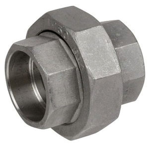 Steel Class 3000 Forged Union, Socket Weld, Import
