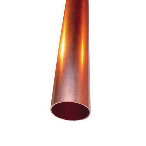 Copper Hard Type L Medium Wall Water Tube, 10 ft