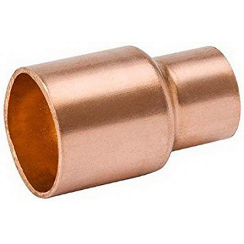 Copper Wrot Fitting Reducer, 3/4 in x 3/8 in, Fitting x Copper