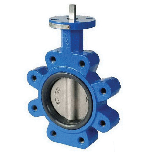 ABZ Valve® 397-815-3 Ductile Iron 1-Piece Resilient Seated Butterfly Valve, 3 in, Lug, 200 psi