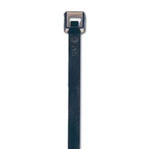 ACT AL-07-50-0-C UV Black Nylon Cable Tie, 7.56 in L x 0.18 in W x 0.05 in T, 50 lb, 100/BG