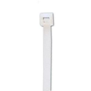 ACT AL-14-50-9-C Natural Nylon Cable Tie, 14.35 in L x 0.18 in W x 0.05 in T, 50 lb, 100/BG
