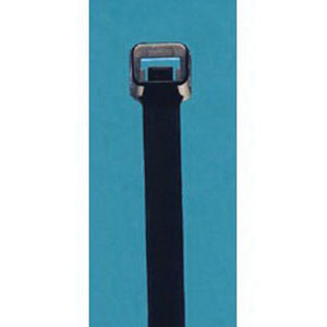 ACT AL-08-120-0-C UV Black Nylon Cable Tie, 8.7 in L x 0.3 in W x 0.07 in T, 120 lb, 100/BG