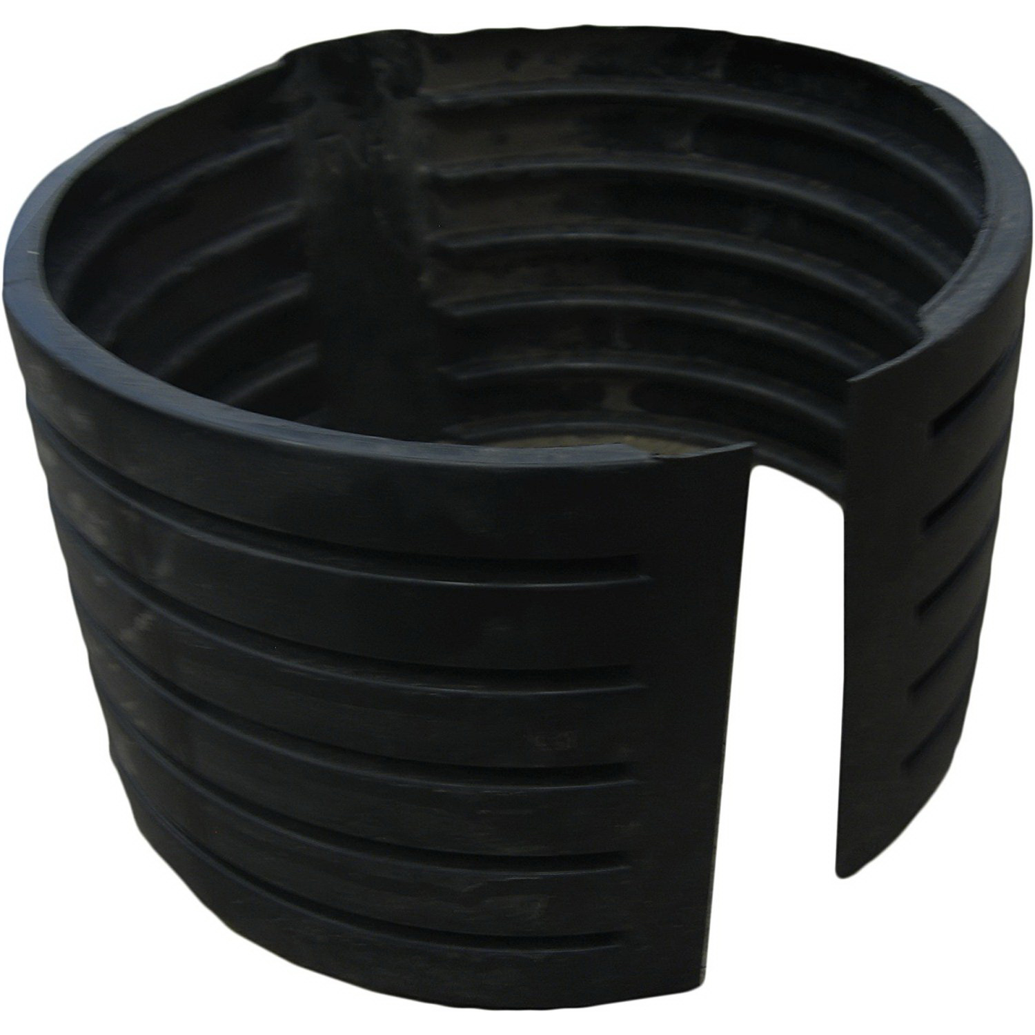 ADS® 1265AA Black HDPE Split Coupling, 12 in, Hub