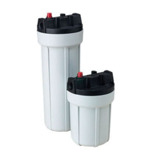 American Plumber Slim Line® 152007 Opaque Traditional Filter Housing, 4-1/2 in x 7 in, 3/8 in NPT