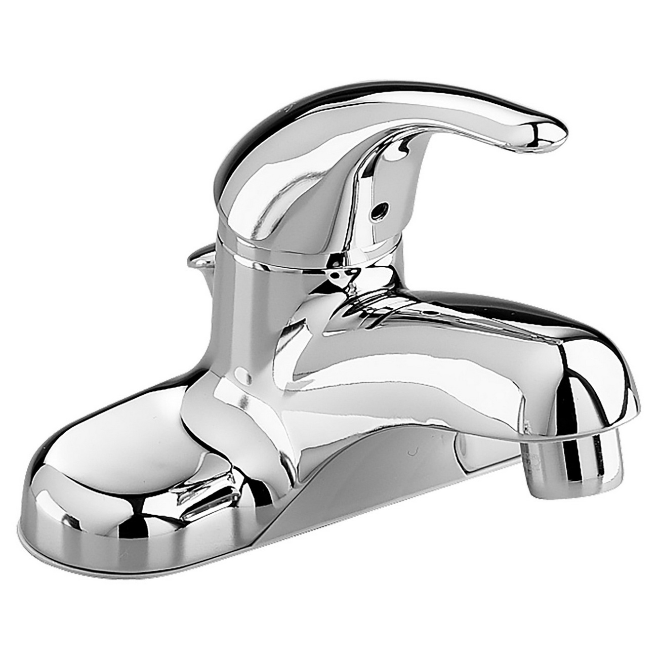 American Standard Colony® Soft 2175.504.002 Polished Chrome Brass Single Control Lavatory Faucet, 1/2 in, Male Threaded