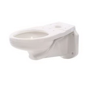 American Standard Glenwall™ 3402.016.020 White Vitreous China Elongated Toilet Bowl, 12 in Rough-In, 1.6 gpf