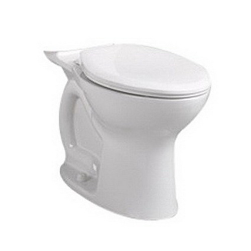 American Standard Cadet® Pro™ Right Height™ 3517A.101.020 White Vitreous China Elongated Toilet Bowl, 12 in Rough-In, 1.28 gpf