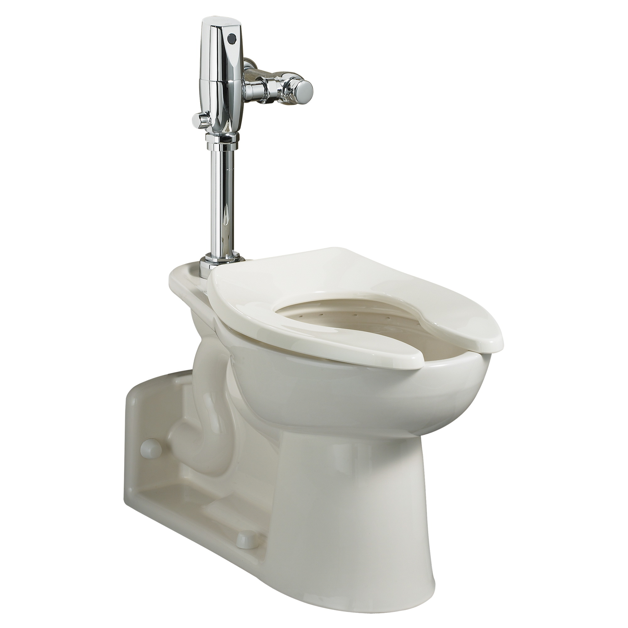 American Standard Priolo® FloWise® 3695.001.020 White Vitreous China Elongated Toilet Bowl, 12 in Rough-In, 1.1 - 1.6 gpf
