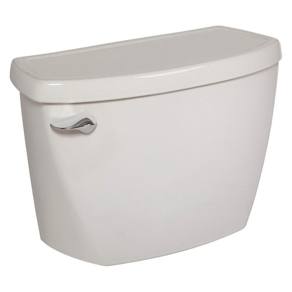 American Standard Cadet® 4142.016.020 White Vitreous China Left Hand Lever Toilet Tank, 1.6 gal, 12 in Rough-In
