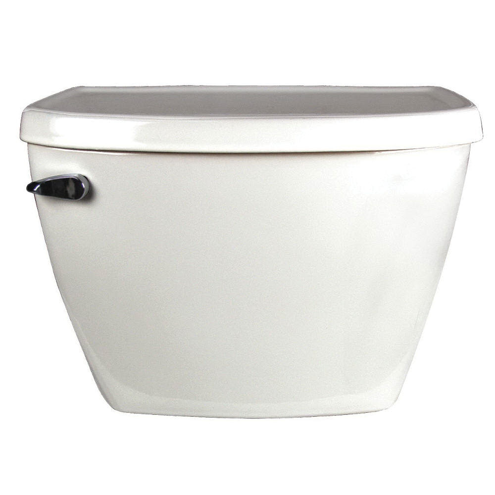 American Standard Yorkville™ FloWise® 4142.100.020 White Vitreous China Left Hand Lever Toilet Tank, 1.1 gal, 12 in Rough-In