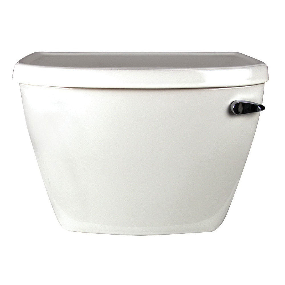 American Standard Yorkville™ 4142.800.020 White Vitreous China Right Hand Lever Toilet Tank, 1.6 gal, 12 in Rough-In