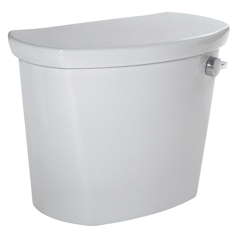 American Standard Cadet® PRO™ Right Height® 4188A.005.020 White Vitreous China Right Hand Lever Toilet Tank, 1.6 gal, 12 in Rough-In