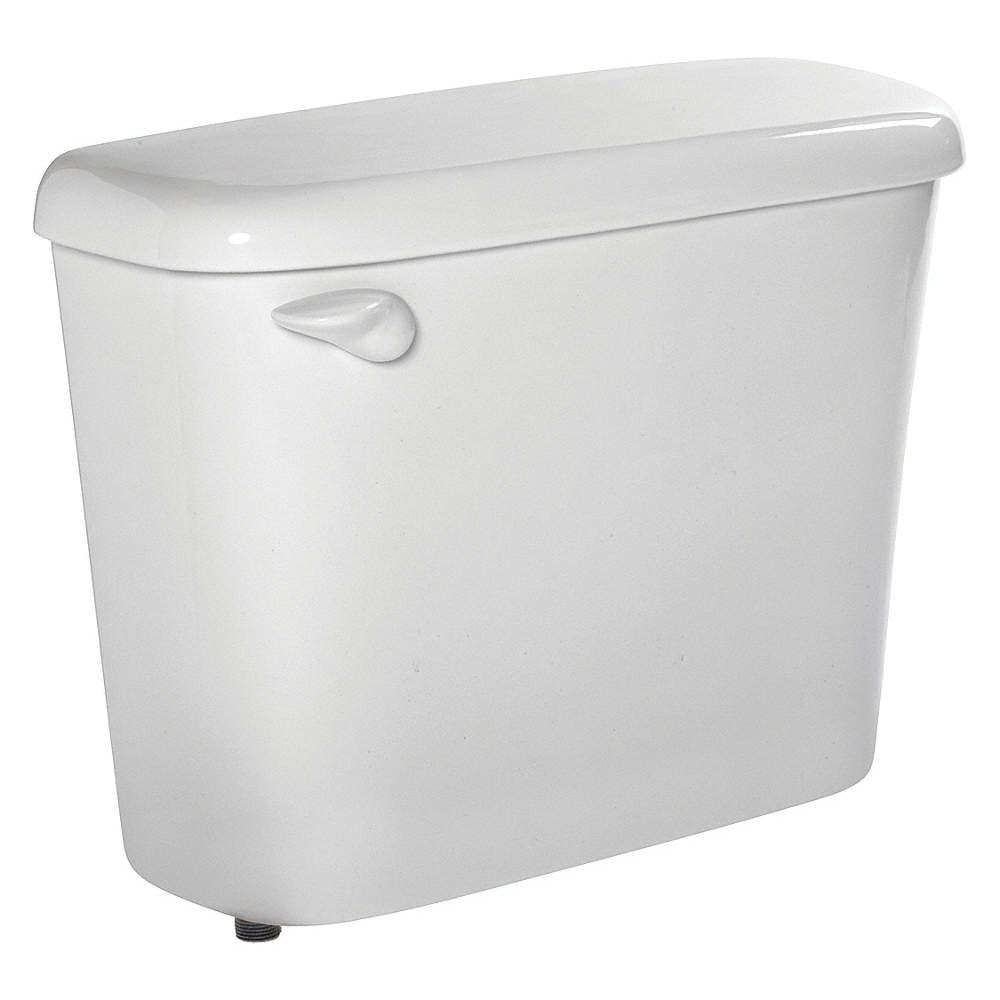 American Standard Colony® 4192A.004.020 White Vitreous China Left Hand Lever Toilet Tank, 1.6 gal, 12 in Rough-In