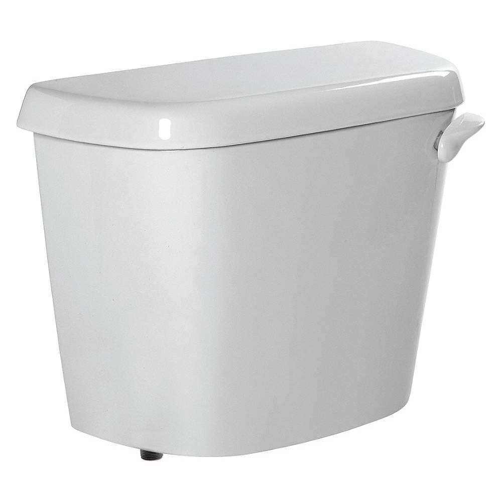 American Standard Colony® 4192A.005.020 White Vitreous China Right Hand Lever Toilet Tank, 1.6 gal, 12 in Rough-In