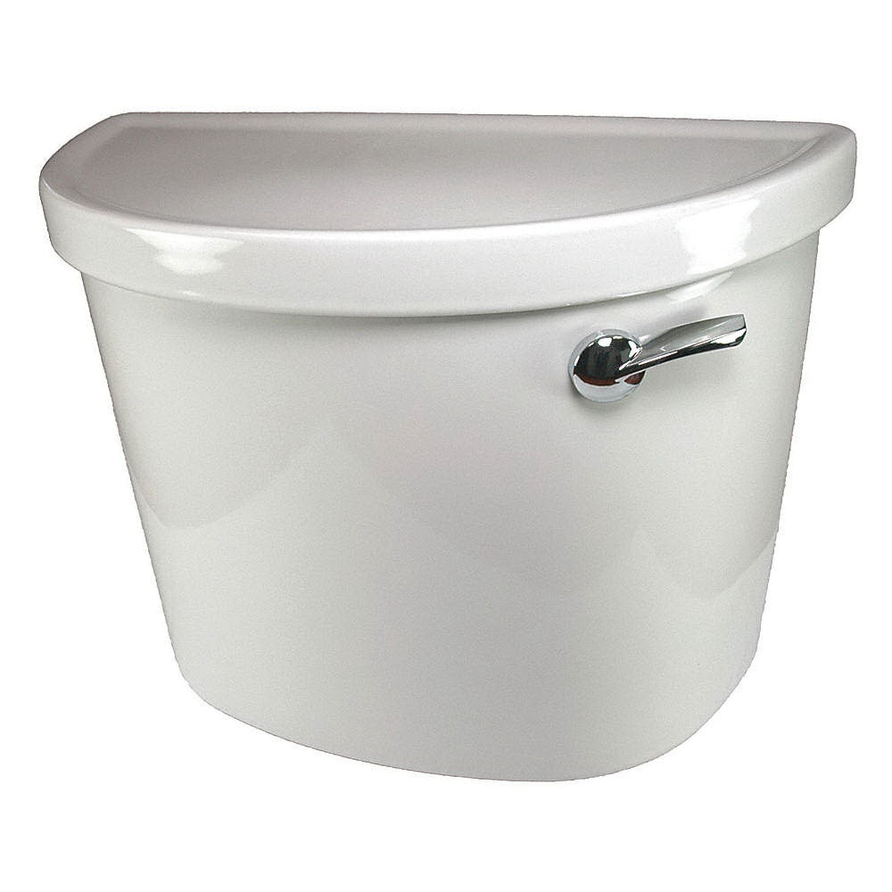 American Standard Champion® Pro™ 4225A.105.020 White Vitreous China Right Hand Lever Toilet Tank, 1.28 gal, 12 in Rough-In