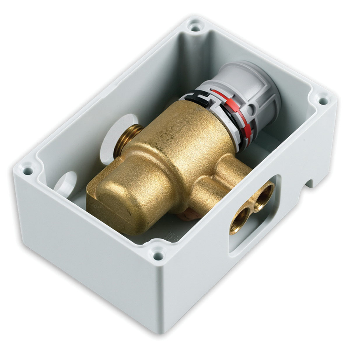 American Standard Selectronic® 605XTMV1070 Stainless Steel Thermostatic Mixing Valve, 3/8 in, Compression, 1 gpm