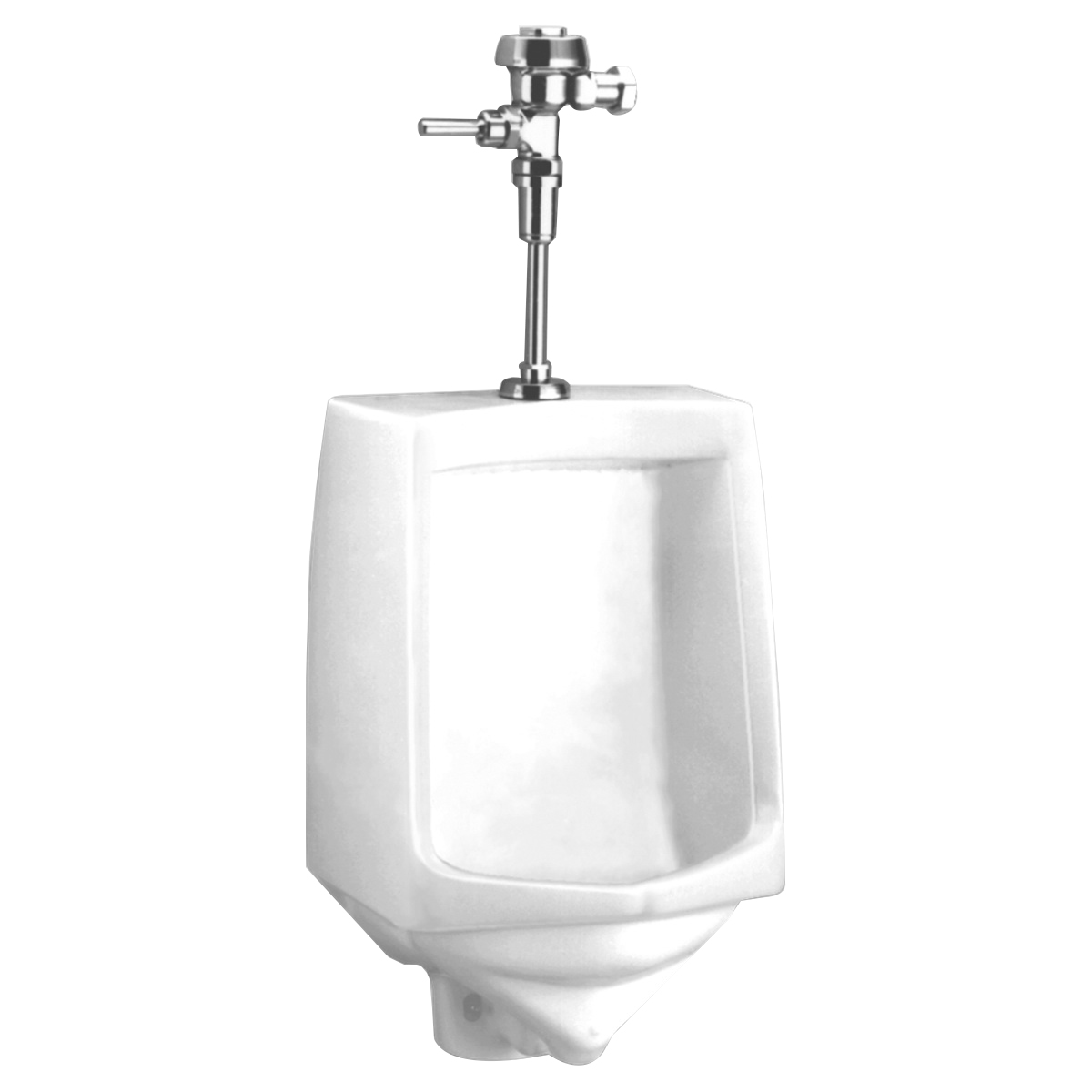 American Standard Trimbrook 6561.017.020 White Vitreous China Wall Mount Low Consumption Low Flow Urinal, NPTF Outlet, 1 gpf