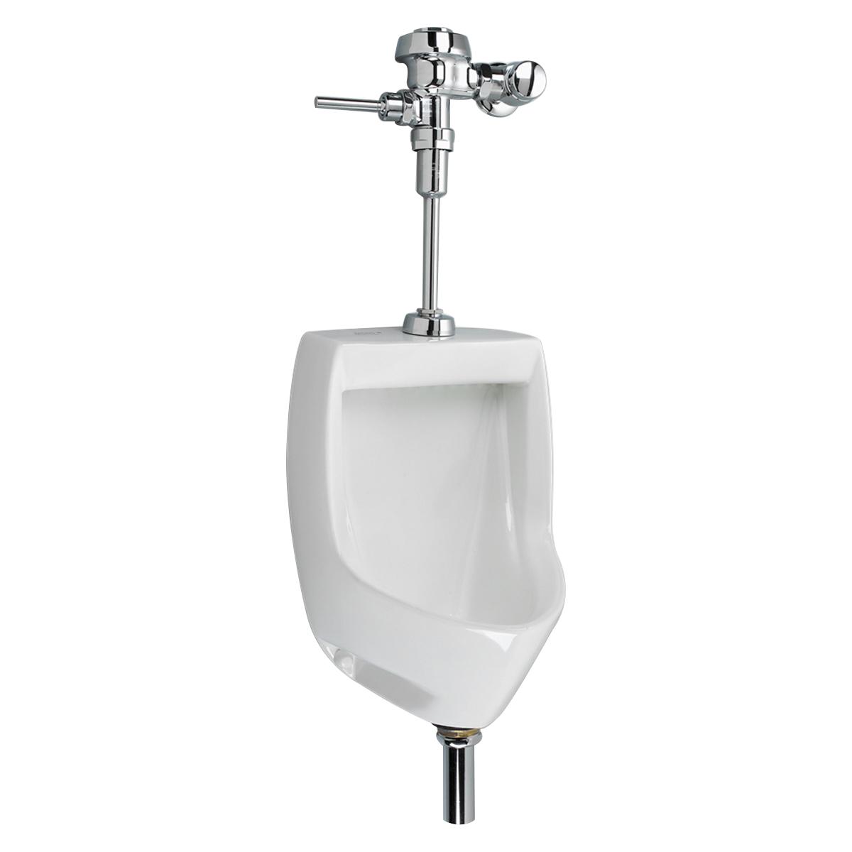 American Standard Maybrook® 6581.001.020 White Vitreous China Wall Mount Low Consumption Universal Urinal, 0.125 - 1 gpf