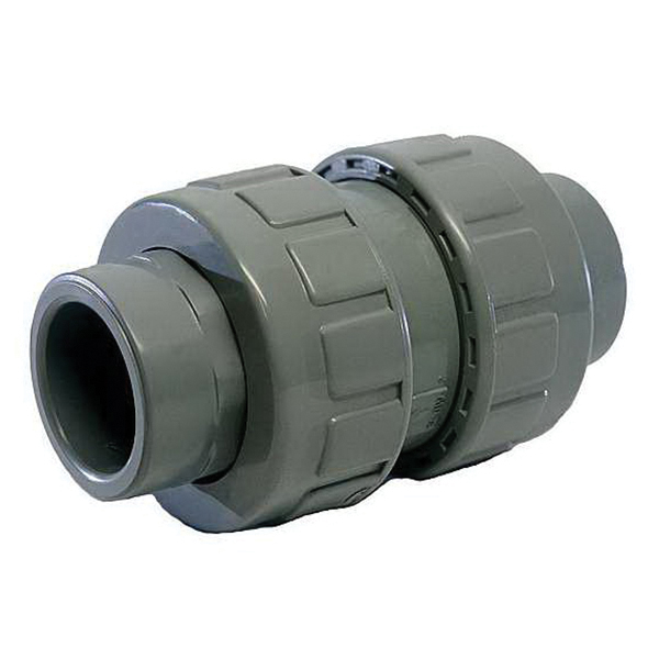 American Valve® P460UC SCH 80 CPVC True Union Ball Check Valve, Socket/FNPT, 150 psi, 180 deg F