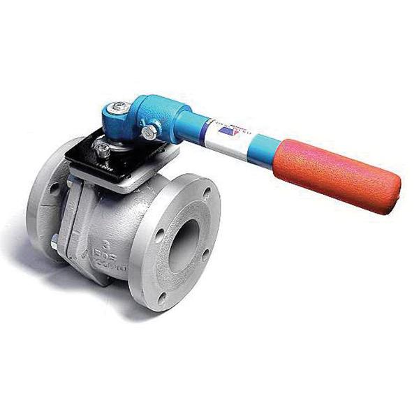 American Valve® 4000D Ductile Iron Full Port Ball Valve, Flanged, 300 psi, 366 deg F