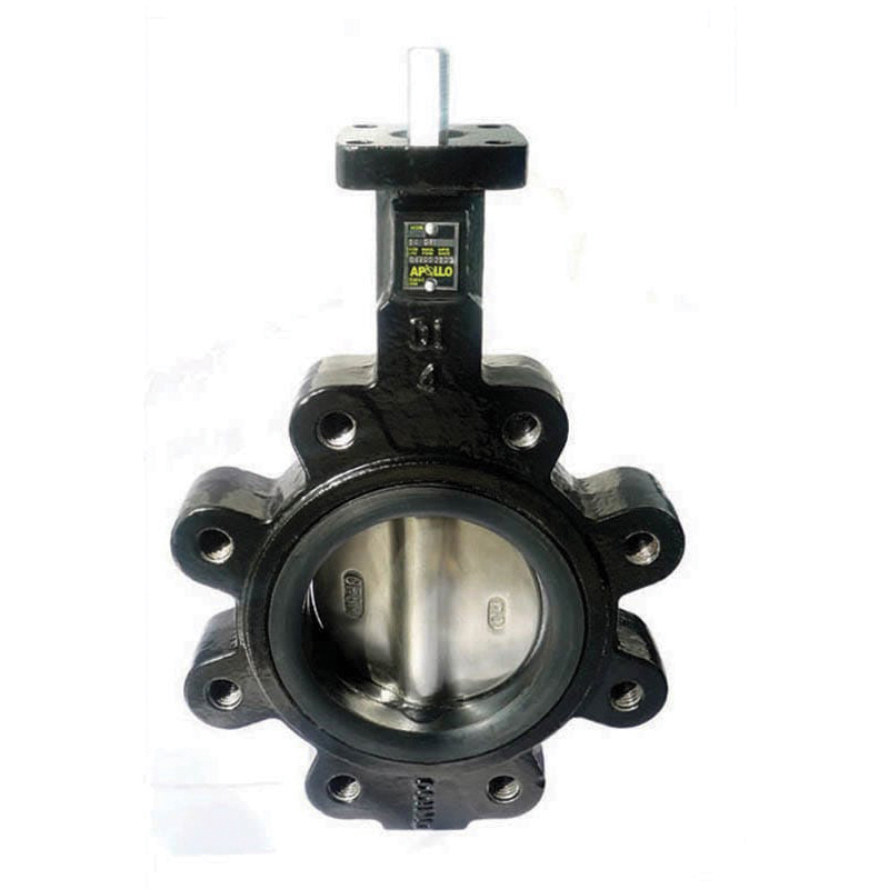 Apollo® LD141 Series Lead Free Ductile Iron Resilient Seated Butterfly Valve, Lug, 200 psi, -20 to 250 deg F