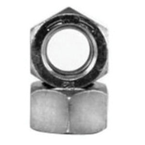 BBI 306062 Zinc Yellow Medium Carbon Steel Grade 8 Finished Hex Nut, 1/8 in, 5/8-11 UNC, 50/BX