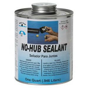 Black Swan® 04085 No-Hub Sealant, 1 qt Can, Amber