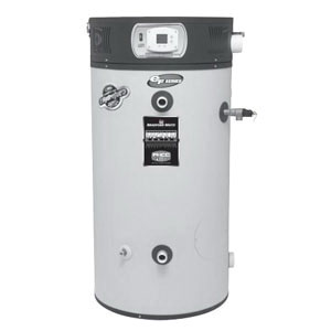 Bradford White® EF-100T-150E-3N Vitraglas Steel Ultra High Efficiency Natural Gas Water Heater, 100 gal, 1-1/2 in NPT