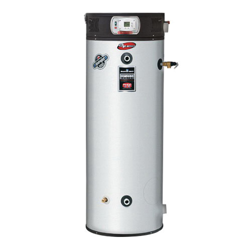 Bradford White® EF-100T-199E-3N Vitraglas Steel Ultra High Efficiency Natural Gas Water Heater, 100 gal, 1-1/2 in NPT