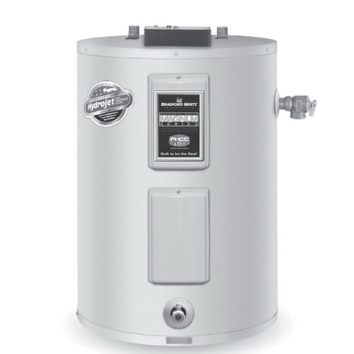 Bradford White® ElectriFLEX LD™ LE140L3-3 Vitraglas Steel Surface Mount Electric Water Heater, 40 gal, 4.5 kW, 3/4 in NPT