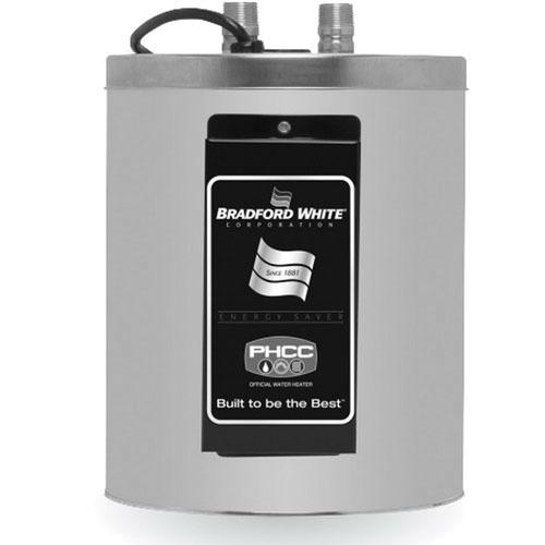 Bradford White® RE12U6 Vitraglas Steel Surface Mount Residential Electric Water Heater, 2 gal, 3/4 in NPT