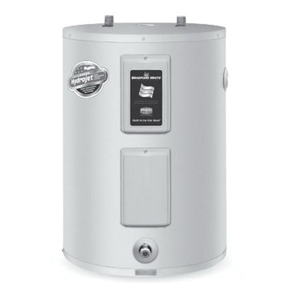 Bradford White® RE240L6 Vitraglas Steel Surface Mount Residential Electric Water Heater, 38 gal, 4.5 kW, 3/4 in NPT