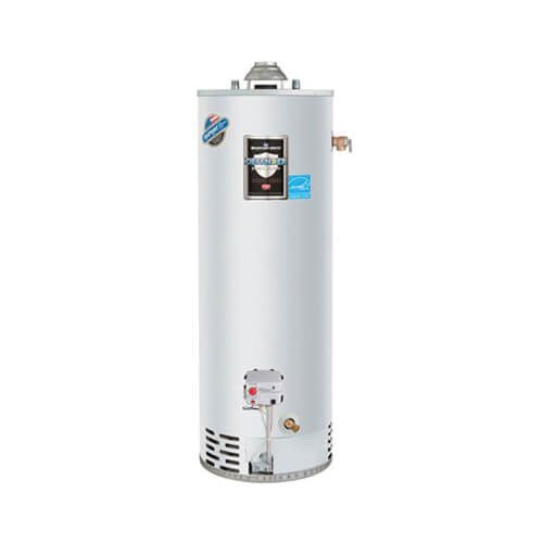 Bradford White® RG240S6N Steel Residential Natural Gas Water Heater, 40 gal, 11.7 kW, 3/4 in NPT