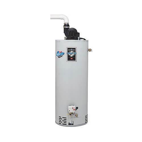 Bradford White® RG2PV75H6N Vitraglas Steel Residential Natural Gas Water Heater, 75 gal, 22.3 kW, 3/4 in NPT