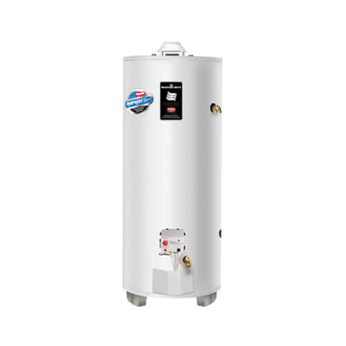 Bradford White® RG275H6N Steel High Input Natural Gas Water Heater, 75 gal, 22.3 kW, 1 in NPT
