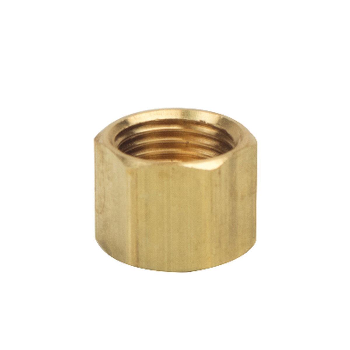 BrassCraft® 61-6 Rough Brass Compression Nut, 3/8 in, Tube