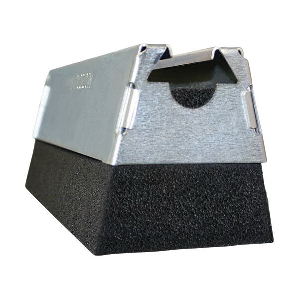Caddy® RPS50H4EG Electro Galvanized Steel/Polyethylene Pyramid Foam Based Support, 50 lb