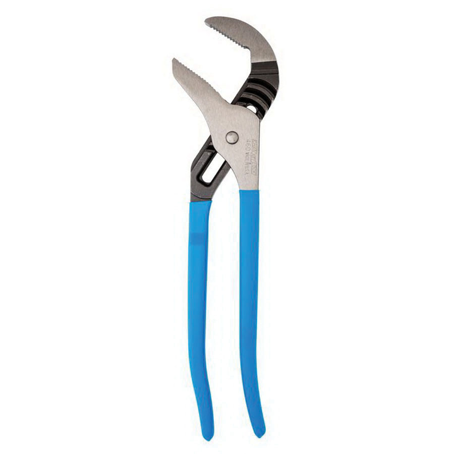 Channellock® 460 Carbon Steel Jaw/Plastic Dipped Handle Straight Tongue and Groove Plier, 4-1/4 in, 16-1/2 in L