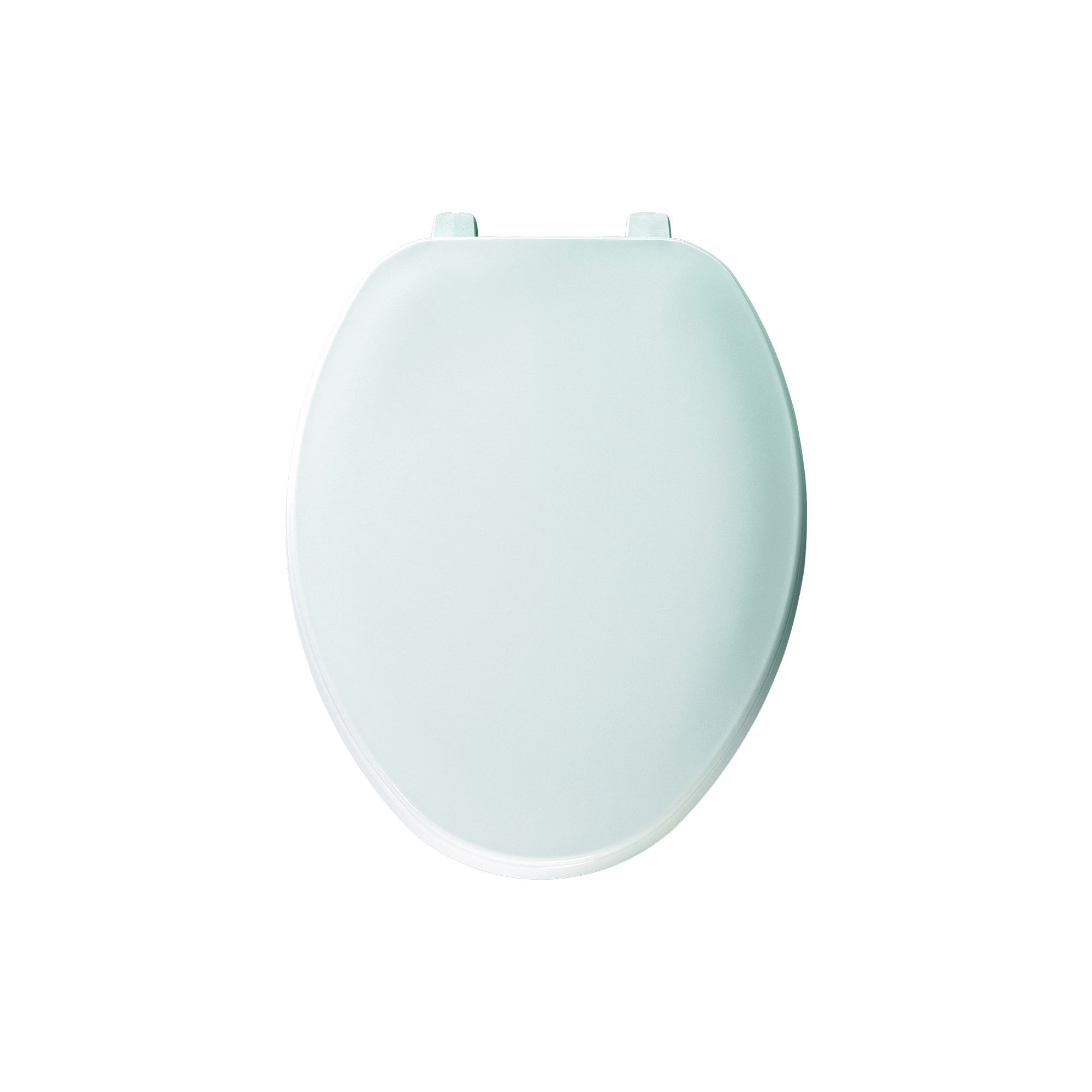 Church® 170 White Plastic Commercial Heavy Duty Toilet Seat