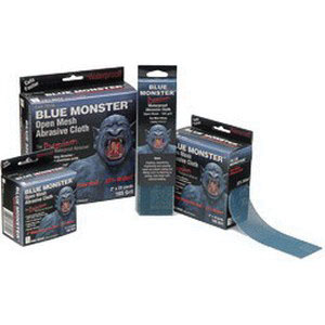 Cleanfit Blue Monster® Aluminum Oxide Premium Abrasive Cloth, Bright Blue, 2 in W