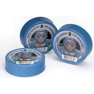 Cleanfit Blue Monster® 70885 Professional Grade PTFE Thread Seal Tape, 1429 in L x 1/2 in W x 0.0035 in T, Blue