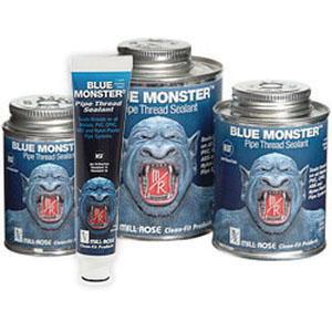 Cleanfit Blue Monster® 76007 Heavy Duty Industrial Grade Thread Sealant, 2 oz Tube, Blue