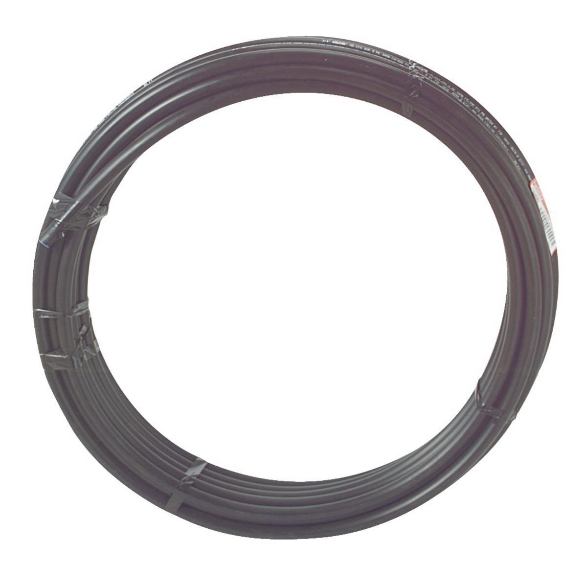 CRESLINE® 18540 Black Polyethylene Flexible Pipe, 1 in x 300 ft, CTS